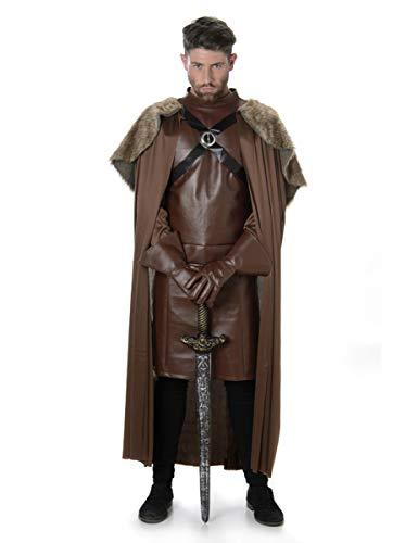 Mittelalterliche Ritter Krieger Mens Fancy Dress Spiel der Throne Erwachsene Kostüm Outfit