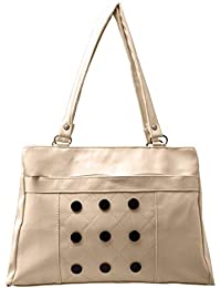 7c6130d3e0 Karigaari Stylish Gorgeous PU Synthetic Leather Shoulder Handbag with  French Studs for Women and Girls