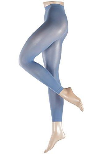 ESPRIT Damen 50 DEN Legging Strumpfhose, Violett (Smoke Blue 6404), 40 (Herstellergröße: 40-42)