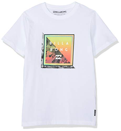 BILLABONG Jungen Kurzarm-T-Shirt Endless SS, White, 8, N2SS52 BIP9 10 -