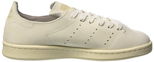 adidas Stan Smith Lea Sock, Sneaker Basses Mixte Adulte Blanc Cassé (Ftwr White/ftwr White/clear Granite)