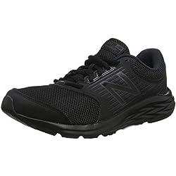 New Balance 411, Zapatillas de Running para Hombre, Negro Black, 44 EU