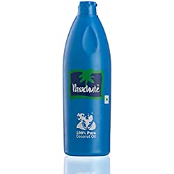 Parachute 100% Pure Coconut Hair Oil Bottle, 500ml