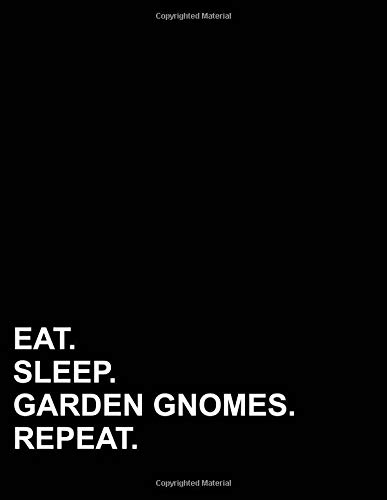 Eat Sleep Garden Gnomes Repeat: Isometric Graph Paper Notebook: 1/4 Inch Equilateral Triangle por Mirako Press