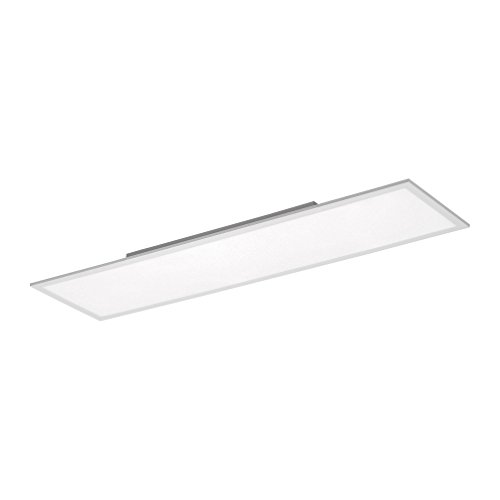 LED-Panel 120x30cm tageslichtweiß, 2870 Lumen, Wohnzimmer-Lampe, Büro-Paneel 4000 Kelvin, LED-Deckenlampe LED-Deckenleuchte, 35W neutralweiß, Stahl weiss rechteckig LED-Display Slim flach ultraslim