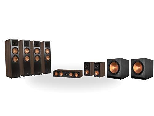 Preisvergleich Produktbild Klipsch RP-8060FA 7.2.4 Dolby Atmos Home Theater System Walnuss