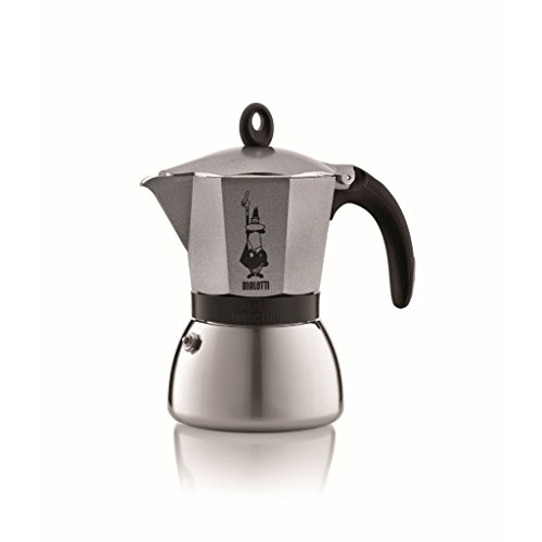 Bialetti Moka – Stove Top Espresso Maker – Induction Suitable – Aluminium & Stainless Steel – Various Sizes and Colours 31XI0RJl4vL