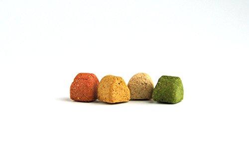 DIBO Gourmet-Happen, 10kg-Karton, Backwaren als gesunde, natürliche Ernährung für Hunde von DIBO, Hundefutter, BARF, B.A.R.F., Leckerli, Hundekekse - 2