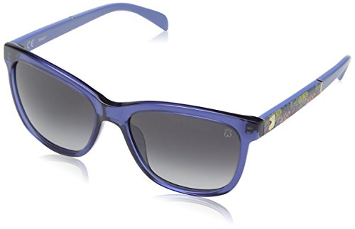 Tous STO905-550D99, Gafas de Sol para Mujer, Shiny Blue, 55
