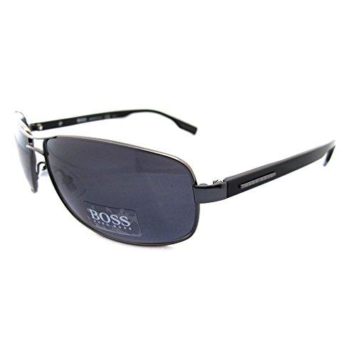 hugo-boss-mens-0410-ruthenium-black-frame-grey-lens-metal-sunglasses
