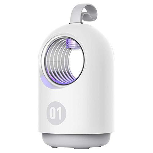 GGPUS Moskito-Lampe, Moskito-Insektenschutzmittel für den Innenbereich im Haushalt, Anti-Moskito-One-Sweeping-Schlafzimmer tragbare Moskito-Falle,White - Weiß Teiler 5 Tab