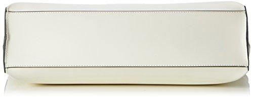 Armani - 9222107P772, Borsa shopper Donna Beige (OFFWHITE 41610)