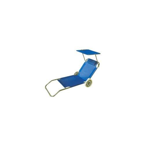 6206 spiaggina acciaio roll c/ruote blu vette 06206