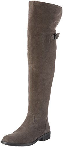 Tamaris 25811, Stivali sopra il ginocchio Donna, Grigio (Graphite 206), 38 EU