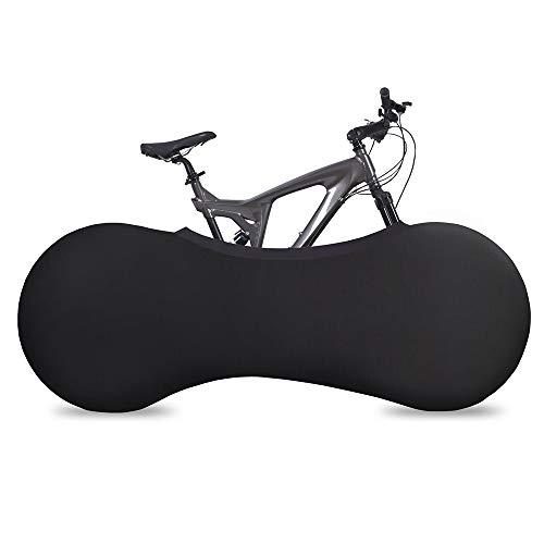 JYW-Covers Coperture per Mobili, Mountain Bike Copertura Antipolvere Indoor Anti-Sporco/Anti-Sabbia Copertura per Pneumatici per Biciclette, Borsa di Conservazione,Black,170 * 60Cm
