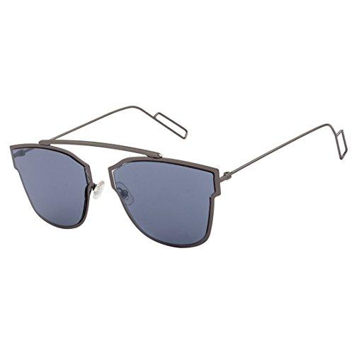 Mary Jane Retro Sunglasses|MJ-7373-GUN-GREY|