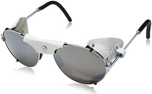 Julbo Cham Sonnenbrille Unisex Erwachsene, Silber/weiß