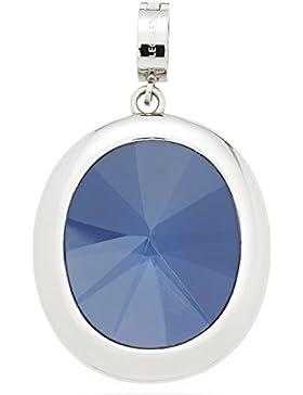 Leonardo Jewels Damen Anhänger Darlin's Animo Edelstahl Glas blau   015744