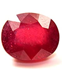 California Gems Natural Ruby (Manek) All Carat or ratti Approx Weight - Certified