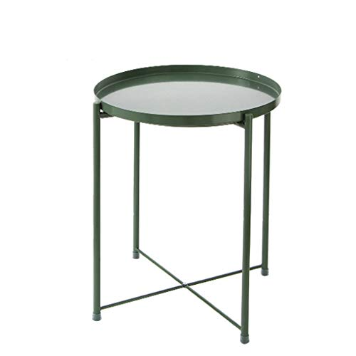 aoeiuv Eisen Tee Tisch Sofa Nordic Wohnzimmer Beistelltisch Kleines Kleid Ist Eine Ecke Gartentisch Blumenständer -