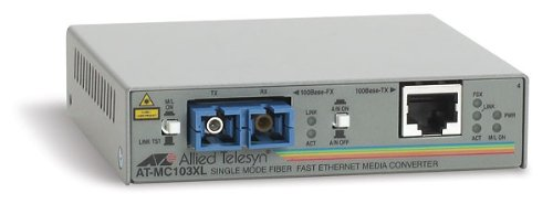 Allied Telesyn AT-MC103XL Konverter 100 TX/FX-SC, SMF bis 15km, Utp-transceiver-hub