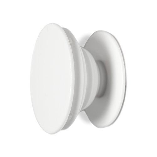 Weiß Handy (Ausziehbarer Griff Ständer Halter für Handy Tablet   Schwarz / Weiß)