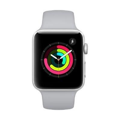 Apple Watch系列3 OLED GPS(卫星)银色智能手表