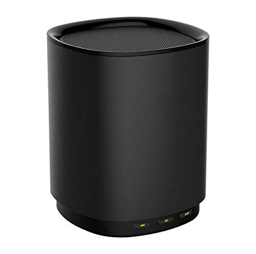 Wj Altavoz Bluetooth, Mini Sistema De Sonido De Altavoz Inalámbrico Inteligente Portátil, Usbcon Micrófono Compatible con Altavoz Control De Voz, Negro