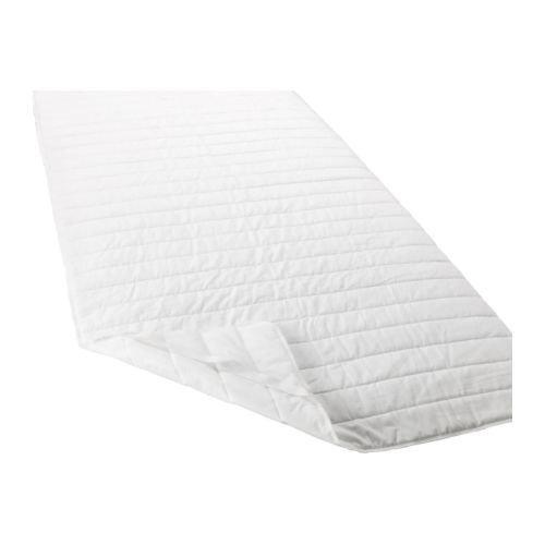 Ikea ÄNGSVIDE Matratzenschoner in weiß; (180x200cm)