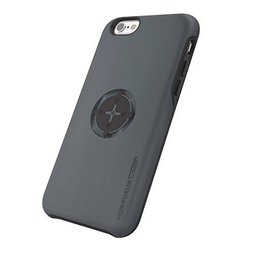 MORPHEUS LABS M4s Case für Apple iPhone 6/6s, Schutzhülle für iPhone 6/6s, Hülle passend für alle M4s Halterungen / Mount, Case mit patentiertem magnetischem Rotations-Schnell-Verschluss, dunkelgrau