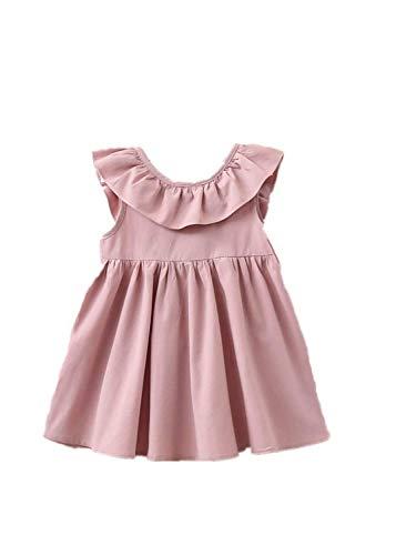 n Prinzessin Kleid Blumenmädchenkleid Taufkleid Festlich Kleid Hochzeit Geburtstag Partykleid Festzug Babybekleidung Outfits ()