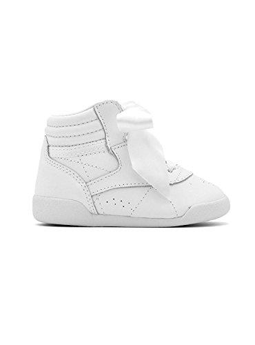 Reebok Ankle Boots Hi Satin Bow Mini 25 Weiß (Boot Ankle Hi)