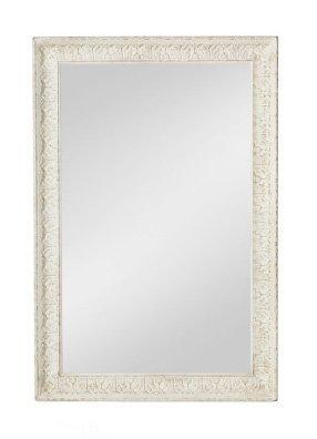 Specchiera di legno stile vintage con fregi disponibile in diverse rifiniture L'ARTE DI NACCHI SP-155