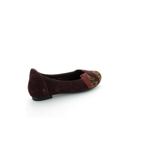 Ballerine Think Balla Bordeaux Marron