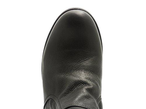 Blackstone KL88. Damen Halbschaft Stiefel Black h0KoR
