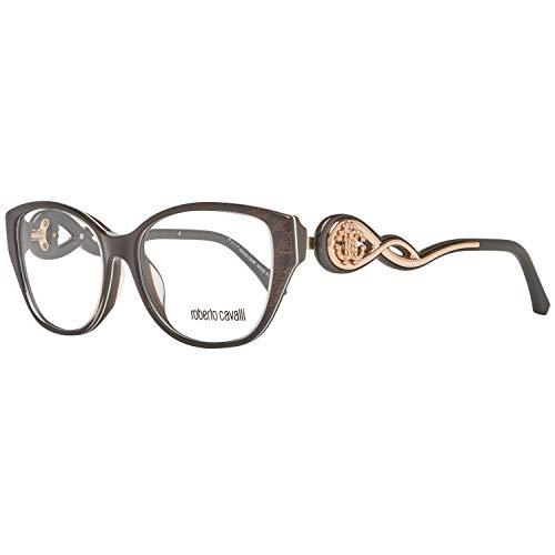 Roberto Cavalli Unisex-Erwachsene RC5029 Sonnenbrille, Braun (Marrone Scuro), 54.0