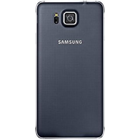 Samsung EF-OG850SBEGWW - Cubierta posterior para Samsung Galaxy Alpha G850F, negro