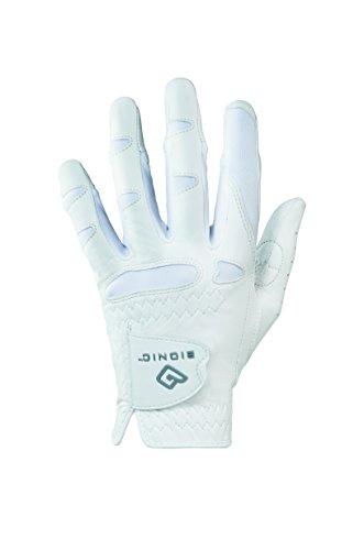 Bionic ggnwlm Damen Golfhandschuh StableGrip mit natürliche Passform Golf Handschuh, Linke Hand, Medium -