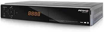 Amiko HD8260+ tV set-top boxes - Reproductor/sintonizador (Ethernet (RJ-45), Satélite, DVB-C, DVB-S, DVB-S2, DVB-T2, 720 x 480,720 x 576,1280 x 720,1920 x 1080 Pixeles, 480i, 576i, 576p, 720p, 1080i, 1080p, 50/60 Hz, 0 - 45 °C)