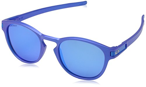 Oakley Herren Latch 926524 53 Sonnenbrille, Blau (X-Ray Bluette/Prizmsapphire),