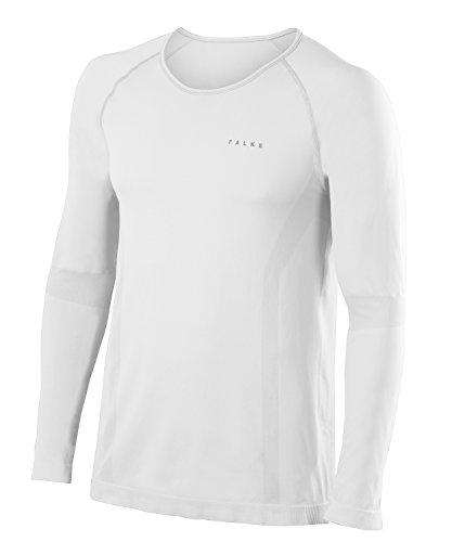 FALKE Herren Underwear Warm Longsleeved Shirt Comfort Men Sportunterwäsche White
