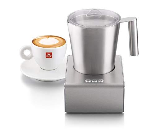 Illy 20709 Schiumatore per Latte Automatico Acciaio Inossidabile montalatte