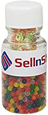 SellnShip Uxcell Colourful Magic Crystal Water Jelly Mud Soil Beads Balls - Mixed Colour