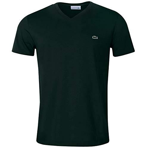 Lacoste Herren SS V-Neck T-Shirt - Caper Bush - XL -