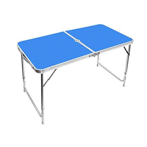 dd4625de4e8e2 CJC Table Selles Set, Pliant Camping Portable Ajustement Hauteur, Aluminium  MDF Jardin Fête Pique