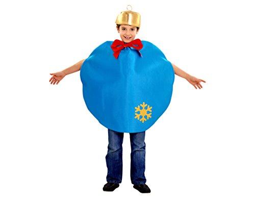 Imagen de disfraz de bola de navidad azul 5 6 años