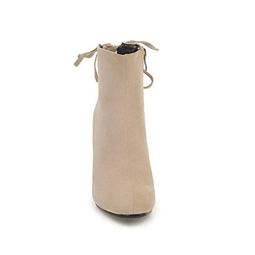 BalaMasa  Abl09733, Sandales Compensées femme Beige