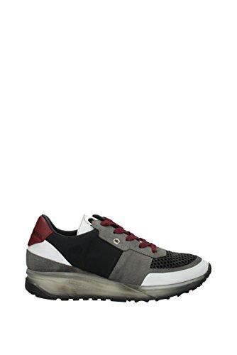Leather Crown Sneakers Uomo - Tessuto (MAERONEROSMOKEBIANCORUBENS) 41 EU