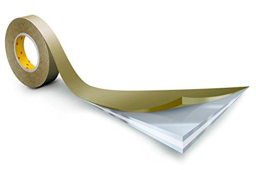 3M doppelseitiges Klebeband mit Papiervlies-Träger, 983XL, 12 mm x 50 m, 0,1 mm, Weiß (12-er Pack)