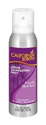 California Scents scsy4–1217Parfum frais pulvérisations parfumée Baies Bio huiles pour rafraîchir l'air et laisse un parfum frais, Lot de 12 - Profumo Aerosol
